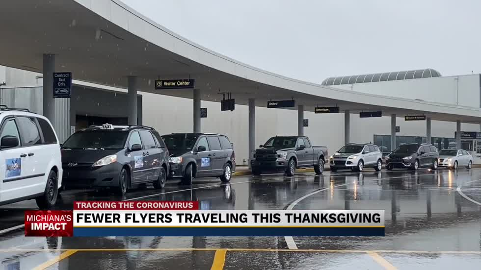 Fewer flyers expected this holiday season as people opt for road-trips